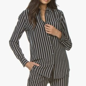 Equipment Vertical Stripe Shirt